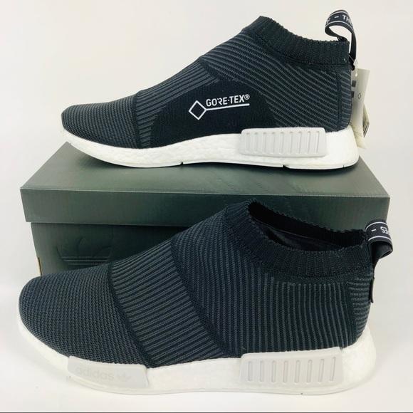 pretty nice dcdd3 ffed7 Adidas Orig NMD PK City Sock GoreTex Boost Shoe NWT
